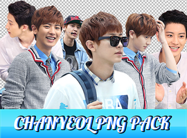 Chanyeol Png Pack by ajikaji