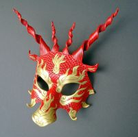 Yulong Red Dragon Mask by merimask