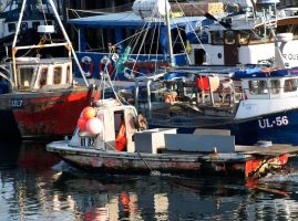 Working Boats by piglet365