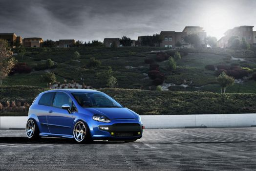 Fiat Punto evo Strecthed by alemaoVT