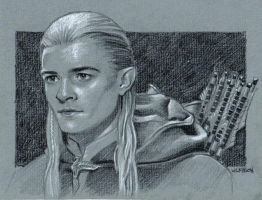 Legolas sketch by sarahwilkinson