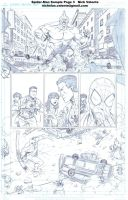 Spider-Man sample page 3 by NJValente