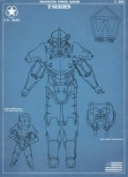 Fallout: Power Armour Concept by Regalblue30