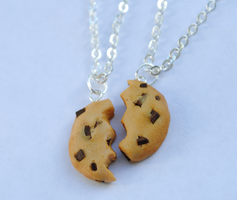 Cookie Friendship Necklaces by ClayRunway