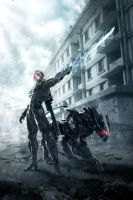 Metal Gear Rising Revengeance HD Wallpaper by leodheme