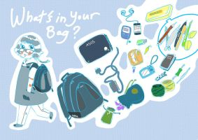 what's in my bag by Pixiu93