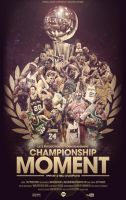 NBA Champions Poster by Angelmaker666