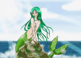 My Mermaid Color by Yamizakuro