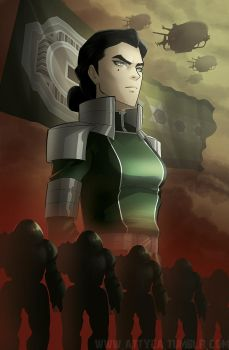 Kuvira - The Great Uniter by Attyca