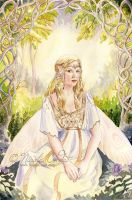 Fairy in the woods by NicoleCadet