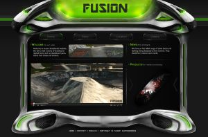 Fusion - Web template by Rockanium