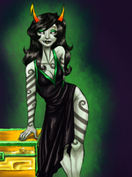 Homestuck: I'm a goddess on my knees by NancyStageRat