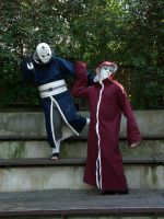Tobi Kabuto cosplay - Everyday im shufflin by IkasuTaiki