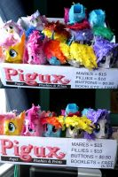 Mobile Paper Plushie Store by C-quel