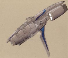 Donnelly class Frigate by Jepray