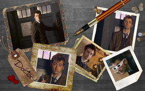 Doctor Collage 'wallpaper' by Darianella
