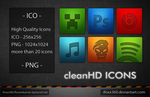 cleanHD iconPack by iFoXx360