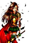 Elven Warrior by Where-Are-We-Alice