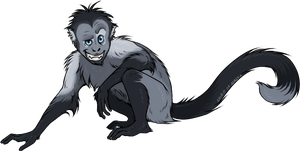 Monkey by Spirit-Of-Alaska