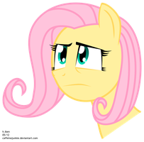 Concerned Fluttershy by caffeinejunkie