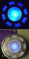 Iron Man: Arc Reactor 2.0 by witchcraftywolfen