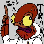 Star Wars - IT'S A TRAP by Stitchfan