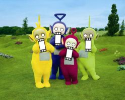 Teletubbies LOL by xXIlRizzoXx