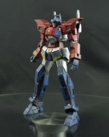 HG G-Exes  Ver. Prime [Battle Scuff] Front by AlmightyElemento
