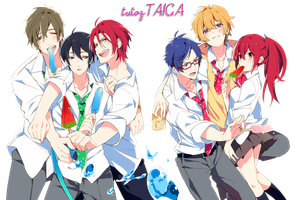 free! render by tutozTAIGA