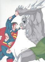 Superman vs Doomsday- The Final Battle by RobertMacQuarrie1