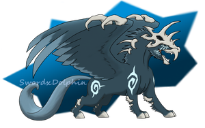 Contest entry -Dracorus -SOLD by swordxdolphin