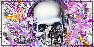 Skull Candy Tag by Qbertfx