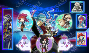 Cardfight!! Vanguard Granblue Playmat!! by UnknownKIRA
