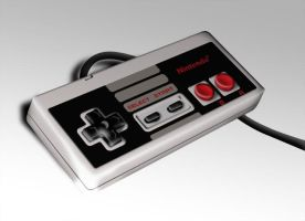 NES Controller by Ryglore