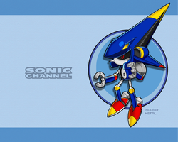 S.C. Rocket Metal Wallpaper by E-122-Psi