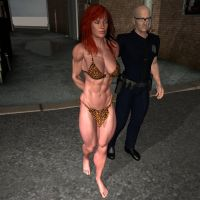 jungle girl arrested by vesubio79dc