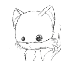 Tails Chibi by SqueakFace
