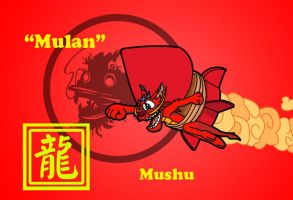 YOTD Mushu by Coshi-Dragonite