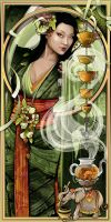 Goddess of Tea by echo-x