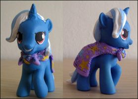 MLPFIM Filly Baby Great and Powerful Trixie custom by omgwtflols