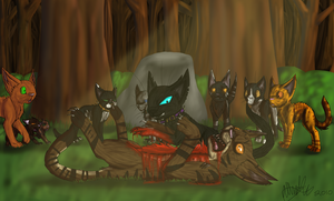 Tigerstar's Death by EonShinato