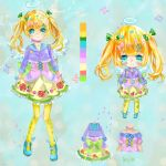 Colorful Angel Lolita Adopt [CLOSED] by Kia-chaaan