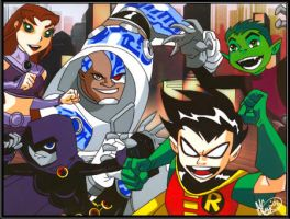 Teen Titans Animation Cel by CartoonCraze