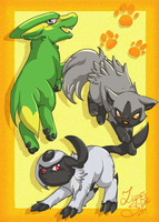 Hoenn Pups by LupusSilvae