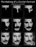 Making of - Freddie Mercury by BenHeine