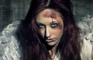 Janina - Face of the fallen by JaninaN