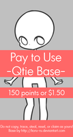 Pay To Use Base {Qtie} 150pts or $1.50 by Koru-ru