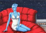 Commission - Liara by Crida