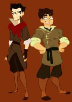 lok - mako and bolin by spoonybards