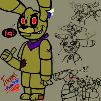 Trappy! (PlushTrap) by YaoiLover113